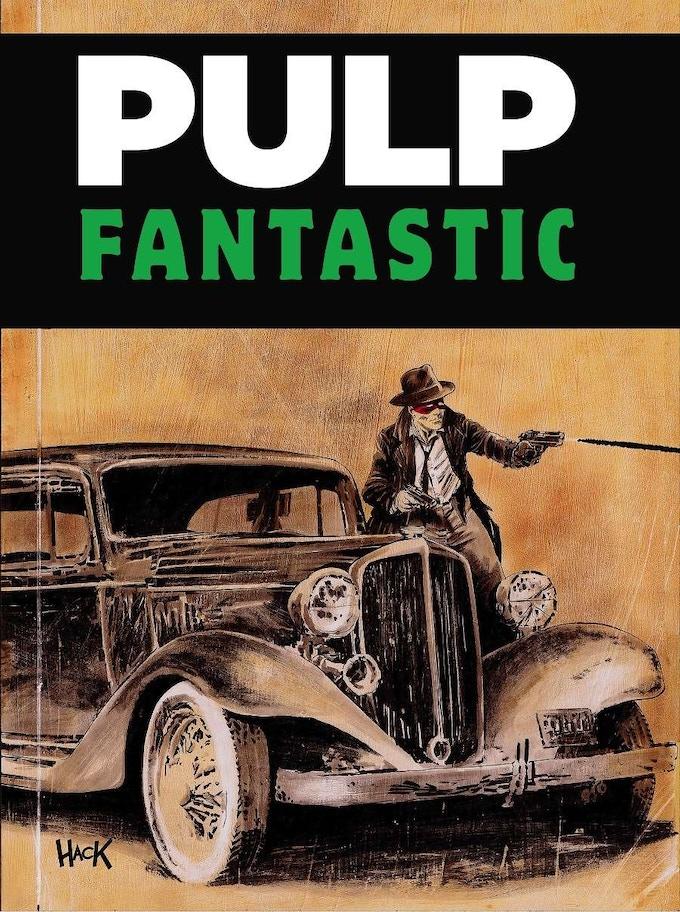Actual cover of Pulp Fantastic.