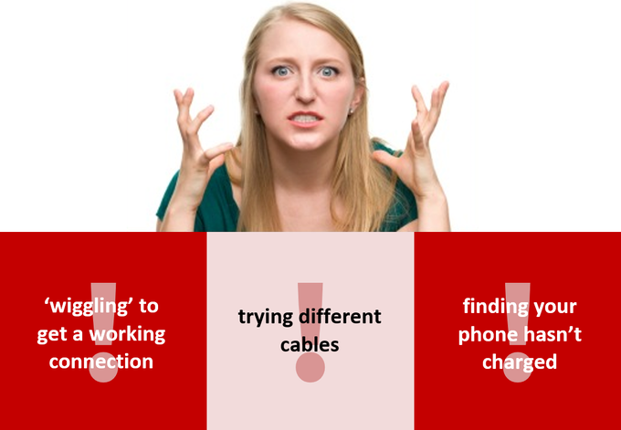 Intermittent iPhone connection issues are enough to drive you mad!