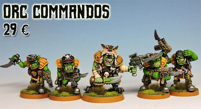 The commandos and their brutal Captain.