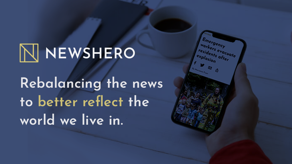 NewsHero-Covering all the news, focusing on those who help. project video thumbnail