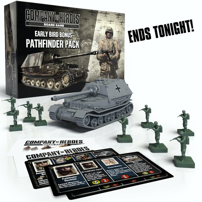 Company of Heroes Board Game by Bad Crow Games » D-DAY
