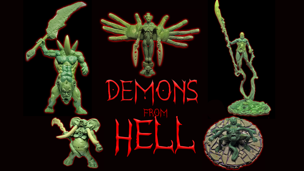 Demons from Hell project video thumbnail