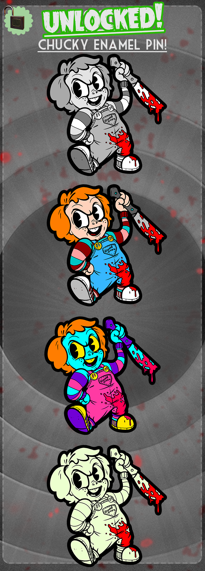Chucky Unlocked!!! So happy to have another friend to play with!