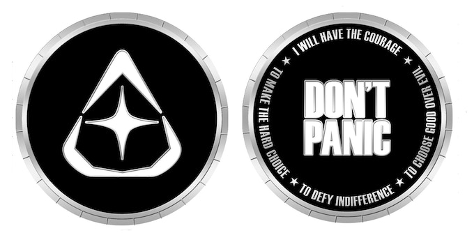 League of Starman Limited Edition Coin