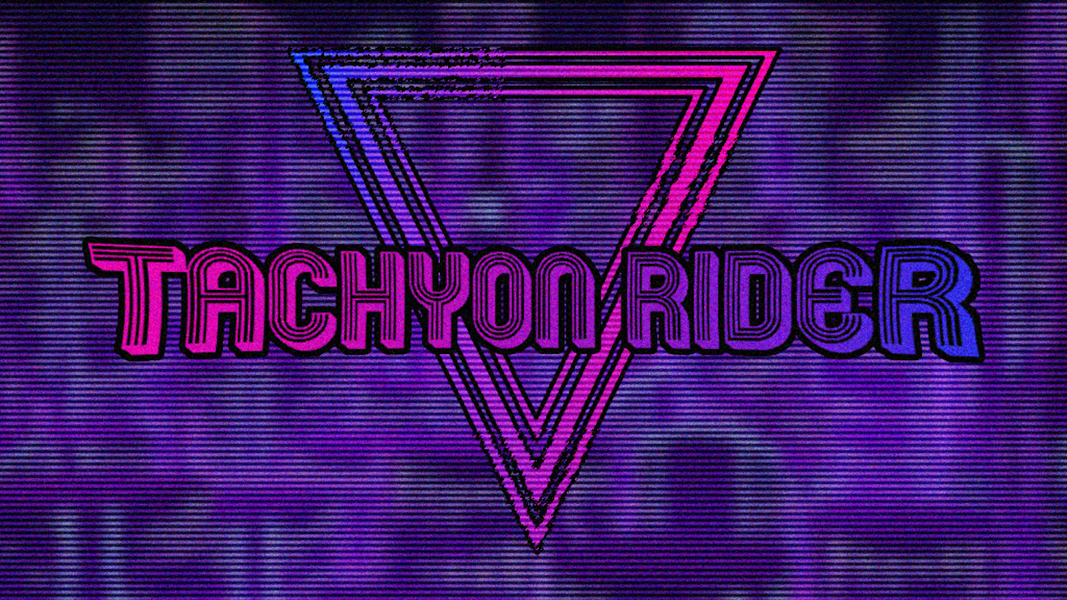 A Retro Cyber-Racer and RPG Designed for VR - Welcome to the Tachyon Era