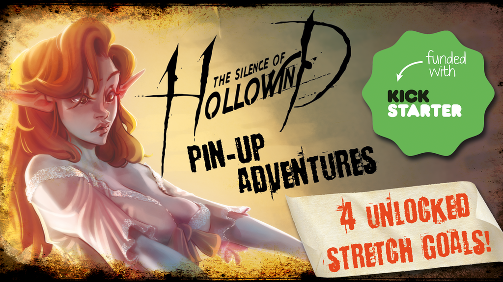 The Silence of Hollowind: Pin-Up Adventures project video thumbnail