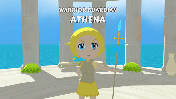 With her spear and powerful magic attacks, Athena can be a strong ally!