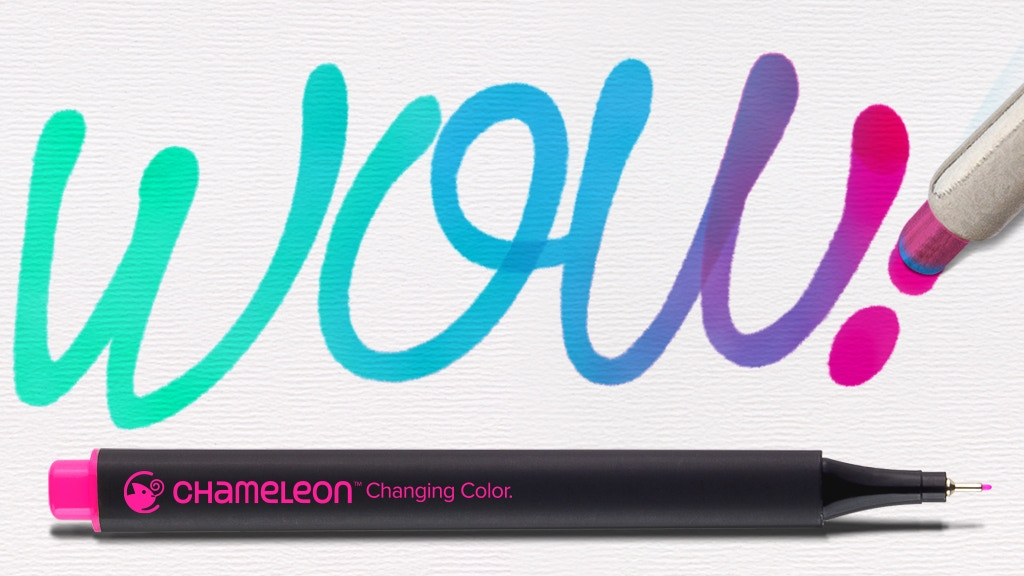 Chameleon Fineliners: World's First Color Blending Fineliner project video thumbnail