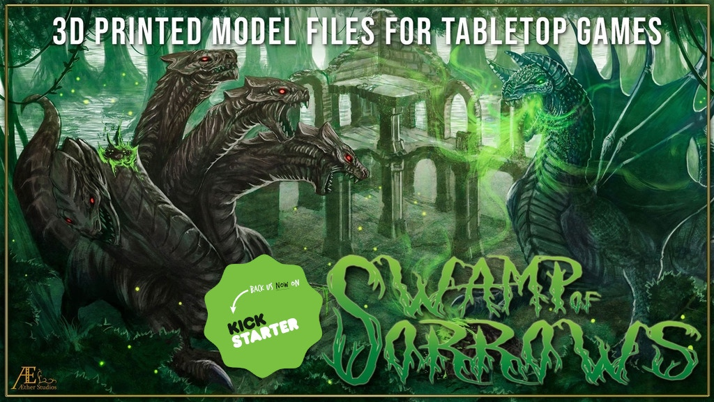 Aether Studios - Swamp of Sorrows project video thumbnail