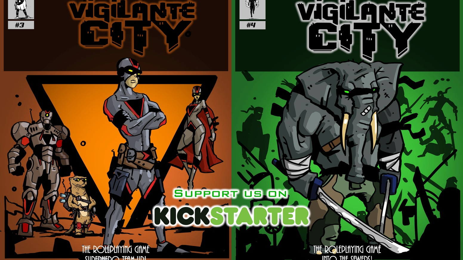Punch the criminals of Vigilante City in the teeth one adventure at a time!
