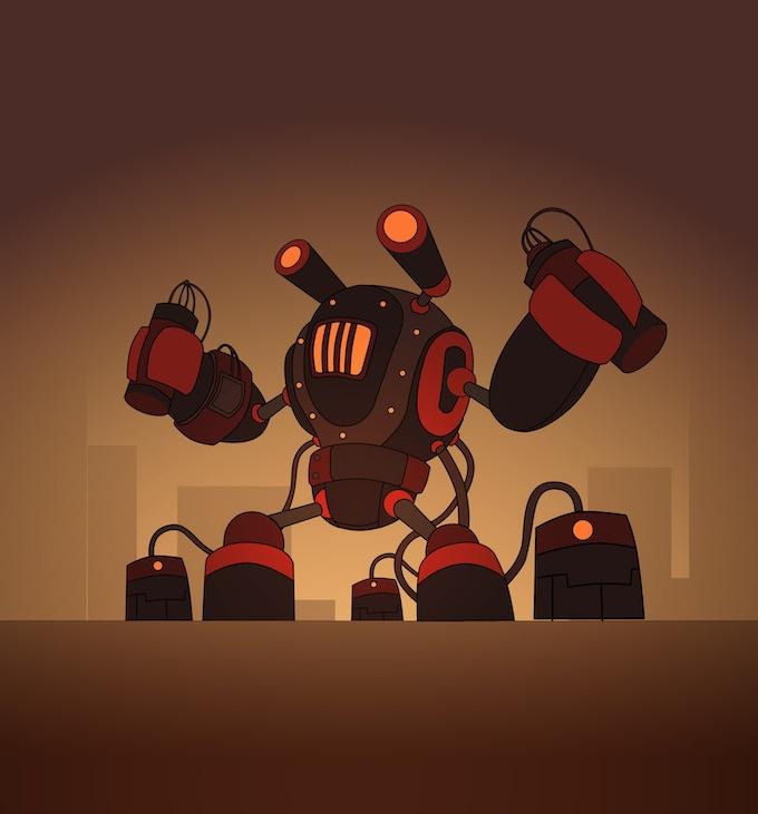 Artwork for Demolition Bot