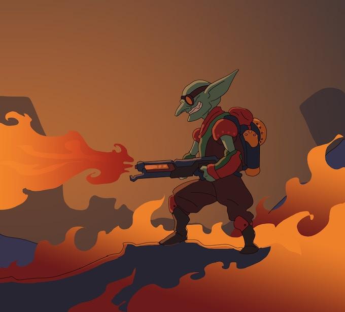 Artwork for Flamebringer