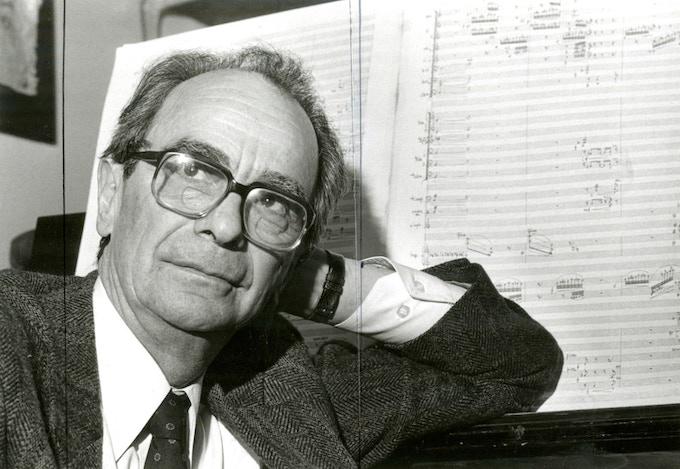 Composer Juan Orrego-Salas