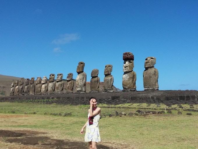 One of our Chilean tour venues, Rapa Nui Island.