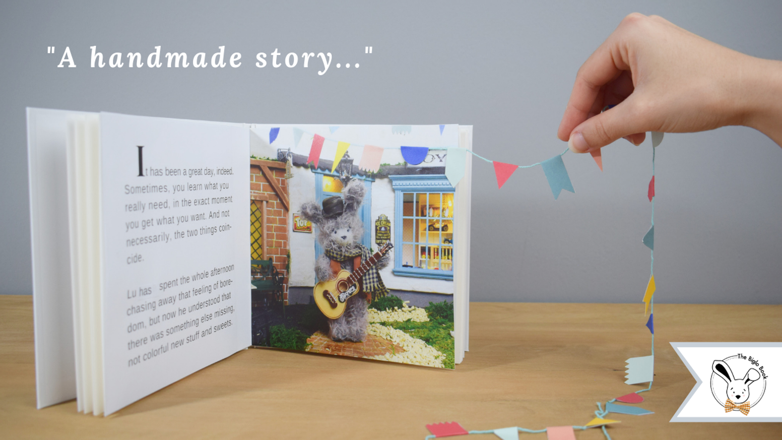 Children's books on a mission: raising young readers in clever and conscientious adults in Classical, Bilingual and You-write version. Get your book and discover the magic of a tiny miniature world!