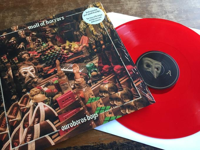 Red vinyl limited to Kickstarter.