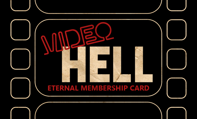 Video Hell Membership Card (Front)