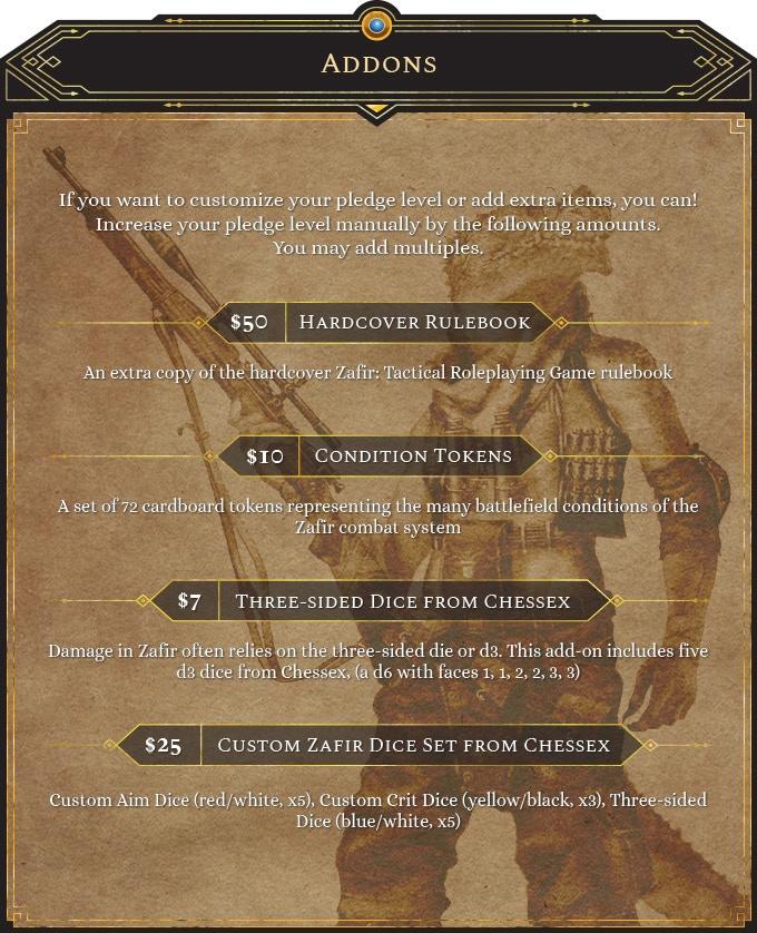 Zafir: Tactical Roleplaying Game by Zafir Games — Kickstarter