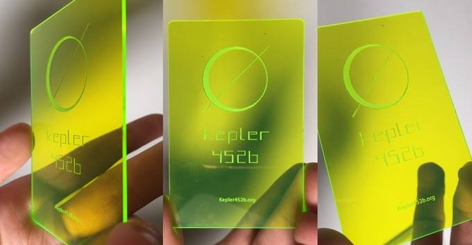 The friends and family Kepler Card