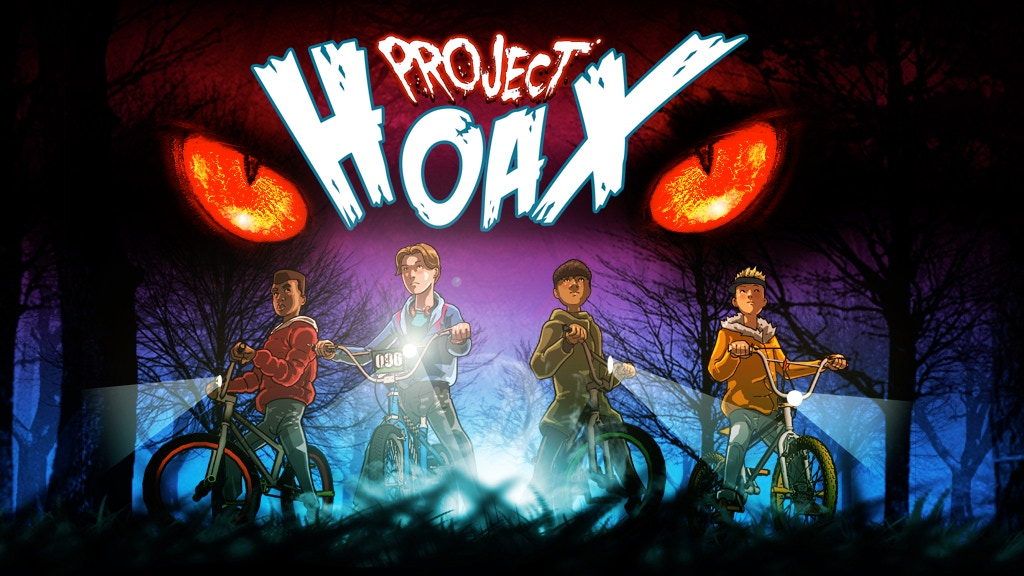 Project Hoax | A one-shot, all-ages horror comic. project video thumbnail