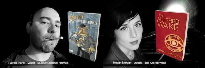 Writer Patrick Strock and Author Megan Morgan