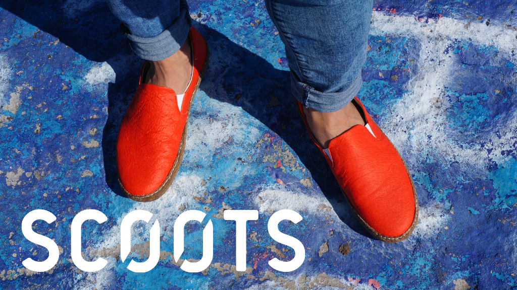 SCOOTS | The World's First Plant-Based Footwear Brand project video thumbnail