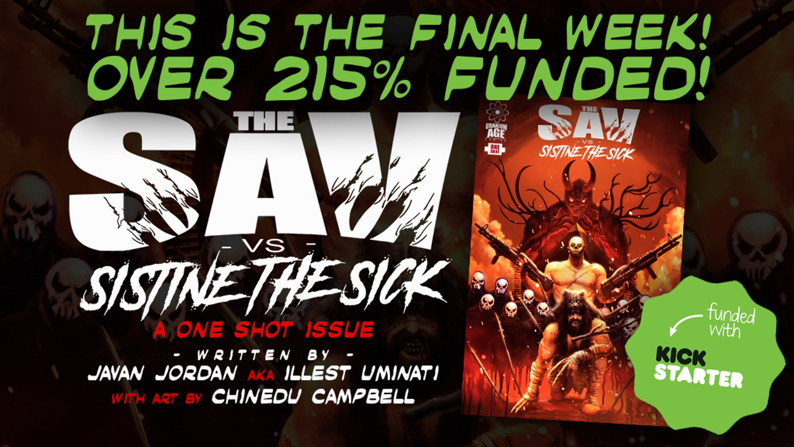 "A special One Shot issue of ""The Sav"""