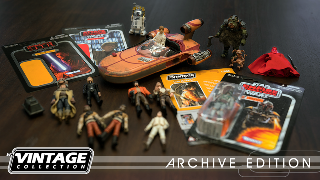 Star Wars The Vintage Collection Archive Edition Book project video thumbnail