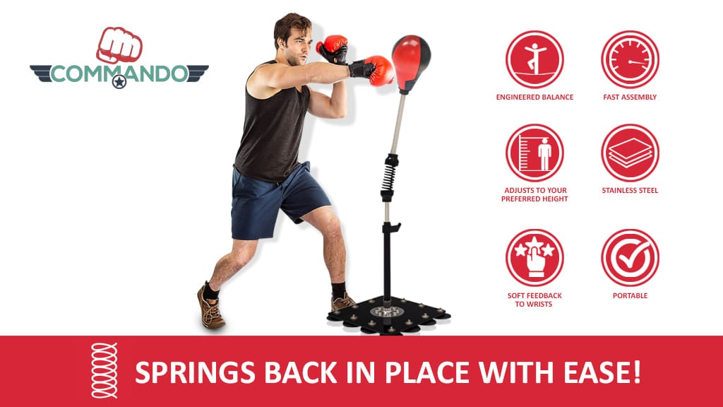 Commando: A Portable Punching Bag That Can Hit Back project video thumbnail