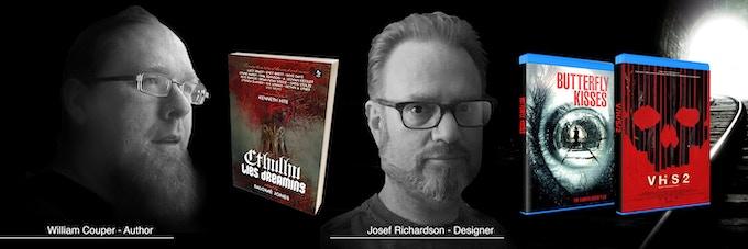 Author William Couper and designer, writer Josef Richardson