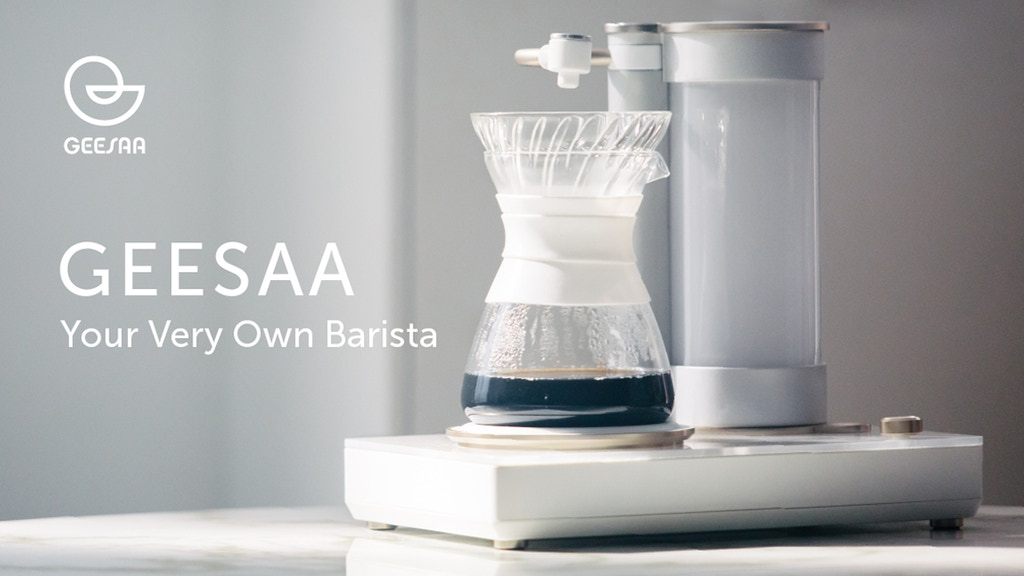GEESAA. Your Very Own Barista. project video thumbnail