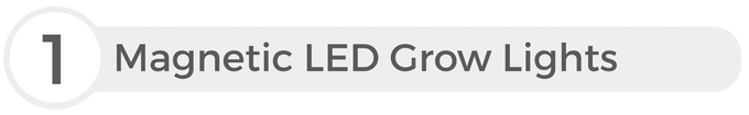 Grow lights are included in every Herbstation order