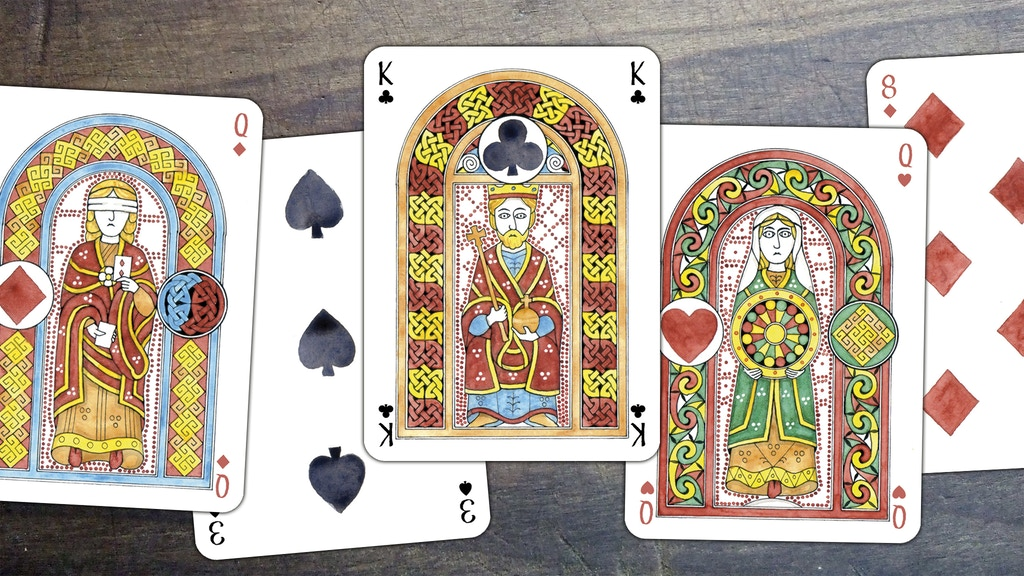Project image for Liber Ludorum: playing cards