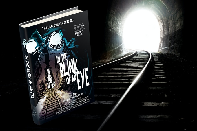 Hardback dust jacket edition of In the Blink of an Eye