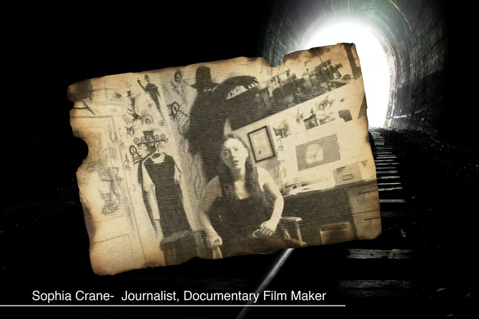 Were it not for journalist and film-maker Sophia Crane first bringing 'The Blink Man' aka Peeping Tom to the public's attention, this project would never exist. Our hearts go out to her family.