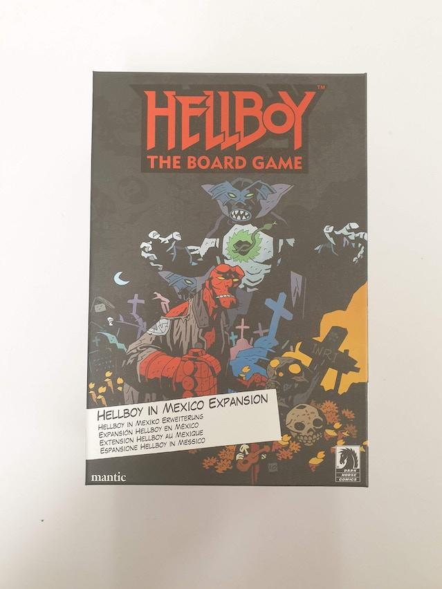 Hellboy in Mexico box