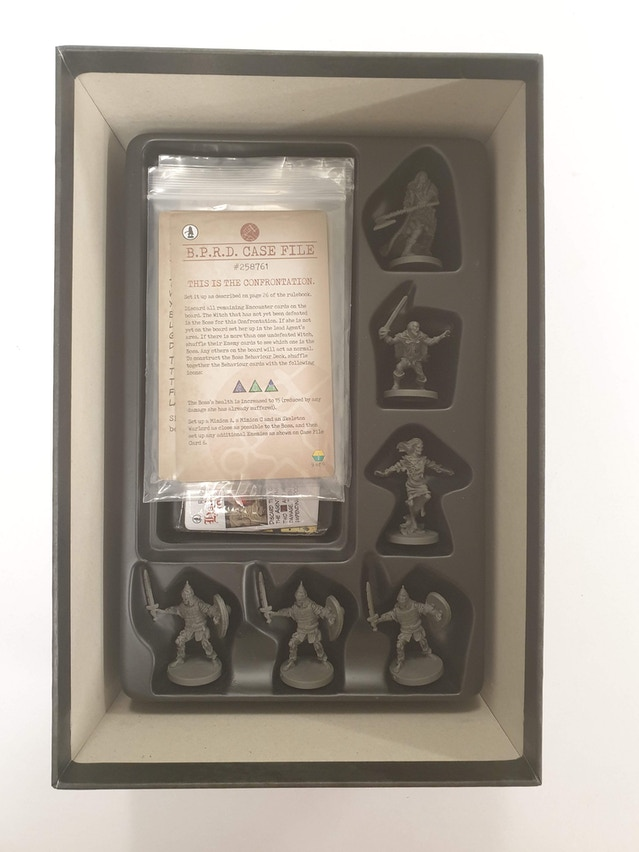Darkness Calls Miniatures and Cards Tray Two