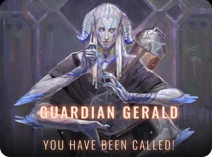 Way to go, Gerald!!!