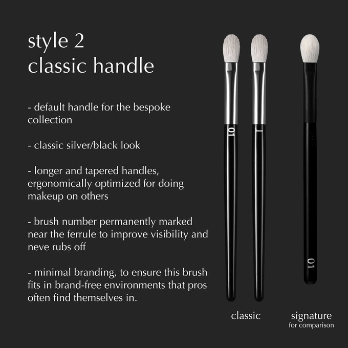 BONUS REWARD: watch our Kickstarter video until the end to find out how you can customize your handles in 2 different styles and 4 different lengths. This means you can order any set in any style/length of handles you want!