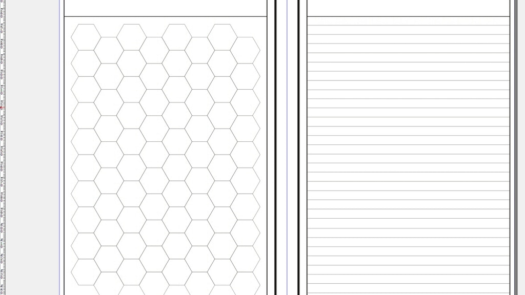 Project image for A5 Gamers' Notebook Hex Version