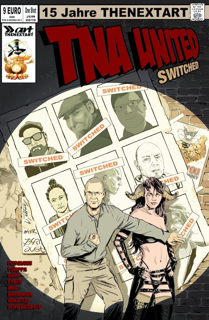 Das Cover gezeichnet von Tomppa nach Byrne und Austin