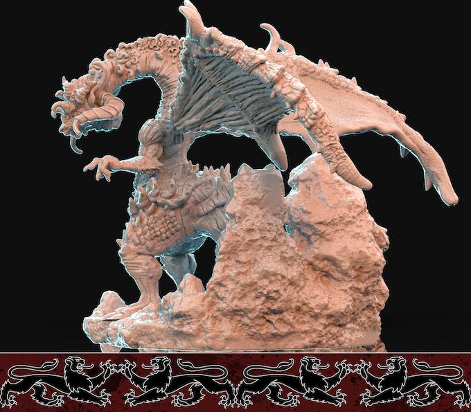 Bestiary - 3D Printable Models by Brayan Nafarrate — Kickstarter