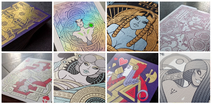 Some pictures of the decks inlcuded in the Leader MonsterBox. See more on Thirdway Website >>