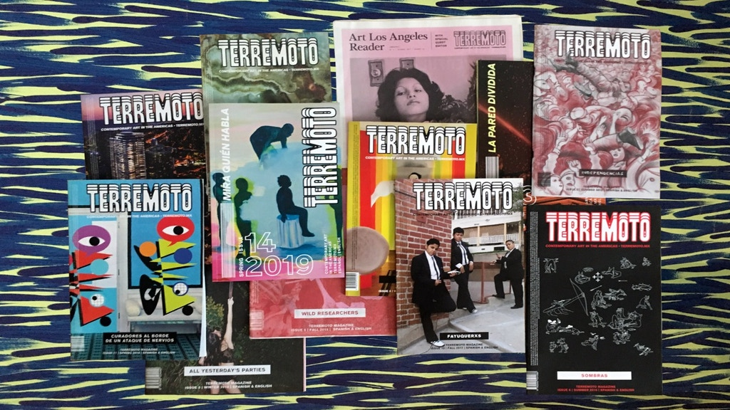 Terremoto Magazine: Issues 15 & 16 project video thumbnail