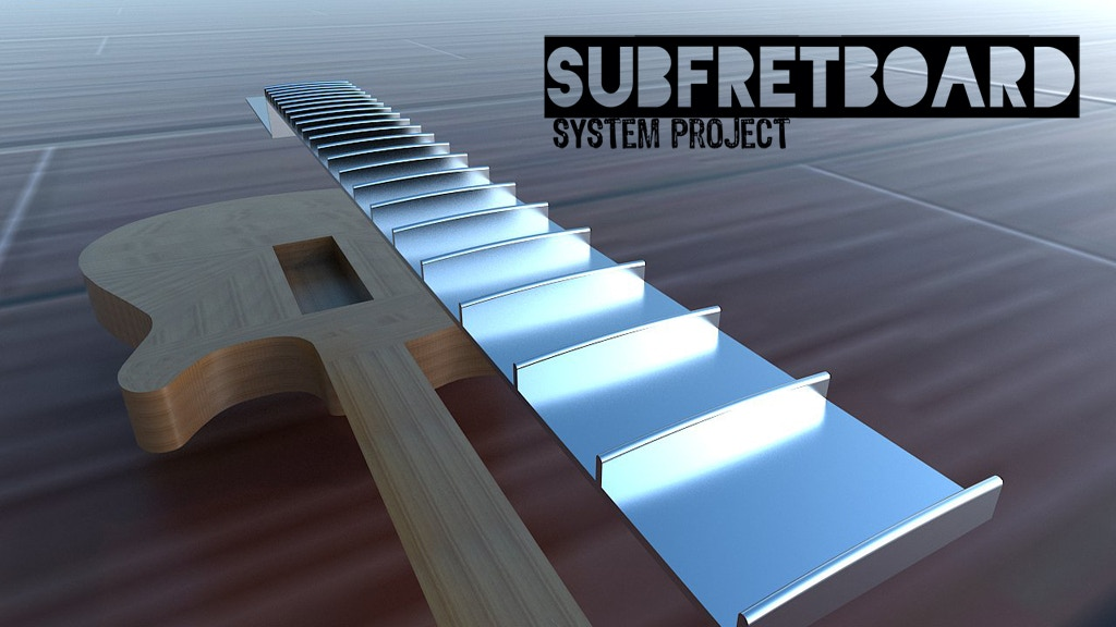 Subfretboard System Project - Magic of sound transmission. project video thumbnail