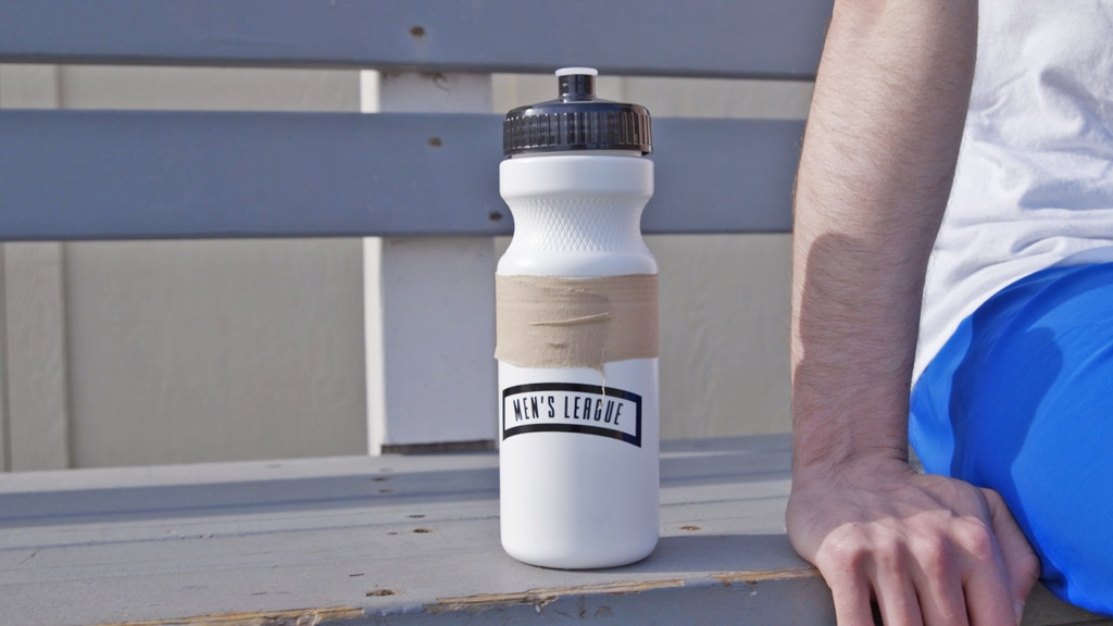 The Men's League Water Bottle - For the Man You Ought to Be  by
