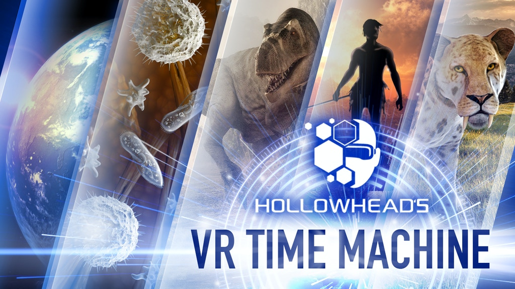 Project image for Hollowhead's Virtual Reality Time Machine Breaks Kickstarter