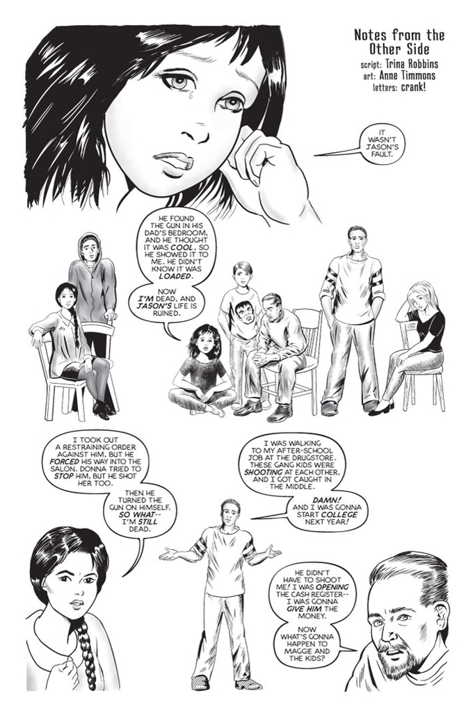 """Notes from the Other Side"" sample by Trina Robbins, Anne Timmons, and crank!"