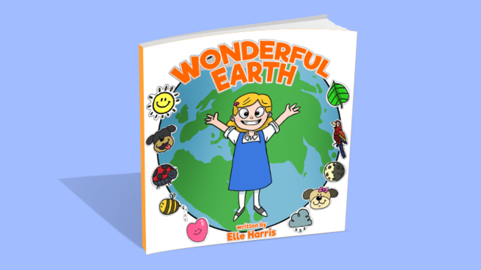 Experience the world and nature through the wonder-filled eyes of a child! Written by 8-year-old, Elle Harris.