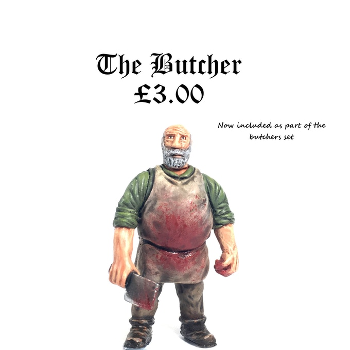 The Butcher (£2,000.00 Stretch Goal - UNLOCKED)